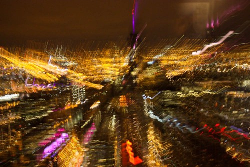 Chicago Skyline On Drugs 04