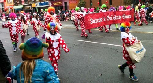 Santa Claus Parade 2013 - Clown