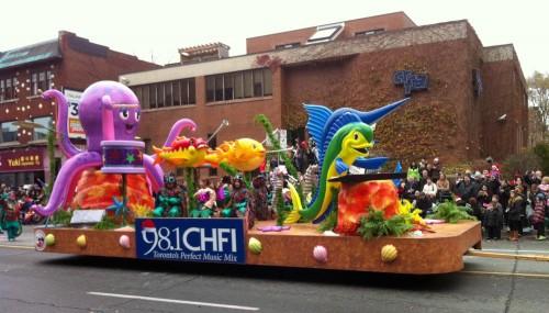 Santa Claus Parade 2013 - 98.1 Float