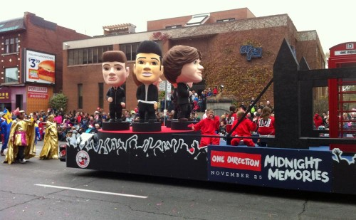 Santa Claus Parade 2013 - One Direction Float