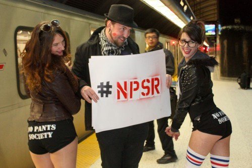 Toronto No Pants Subway Ride-1