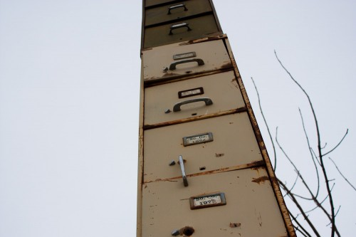 Worlds Tallest Filing Cabinet-4