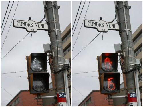 Dundas West Pedestrian Signal