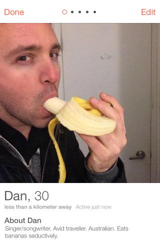 Tinder Banana