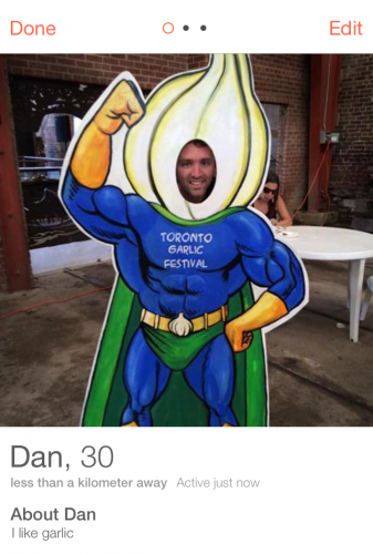 Tinder Garlic