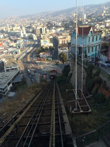 Chile - Valparaiso Ascensor 2