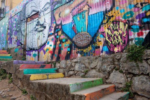 Chile - Valparaiso street art