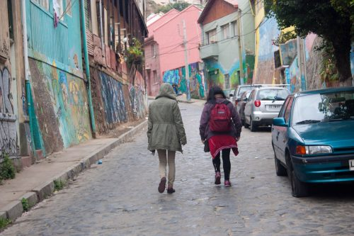 Chile - Valparaiso walking