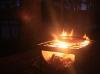 Campfire by Lake Tinaroo 1